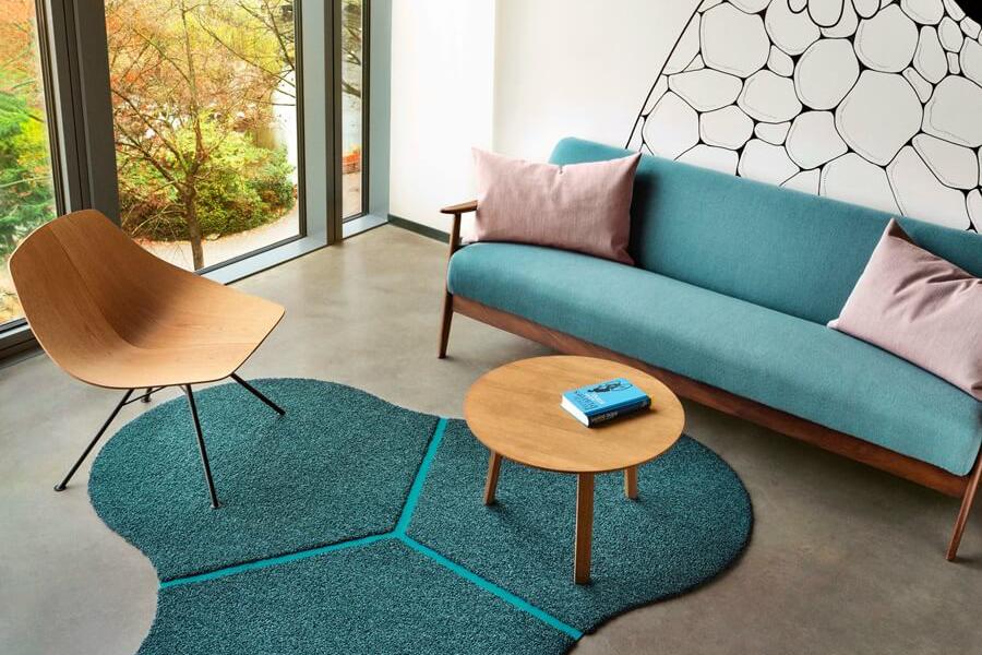 Напольные ковры в торговом центре «Гудвин»