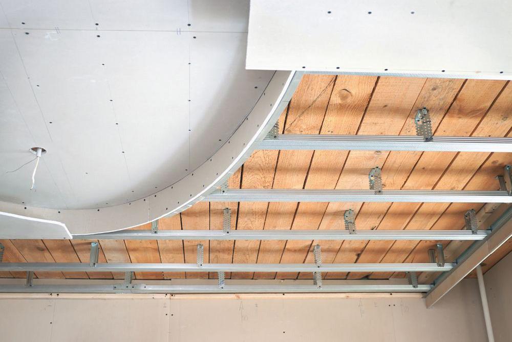 Виды и монтаж подвесных потолков