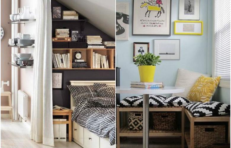 Оптимизируем пространство маленькой квартиры