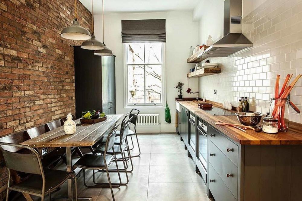 Кухня в индустриальном стиле: 7 особенностей
