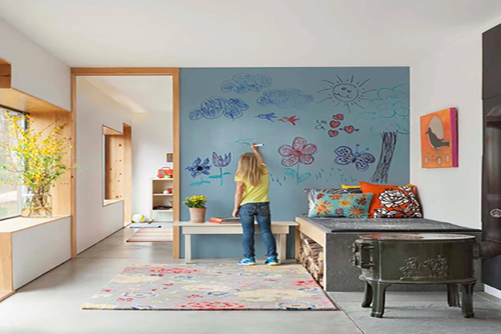 Как покрасить стены в детской комнате? Выбираем тип краски и цвет