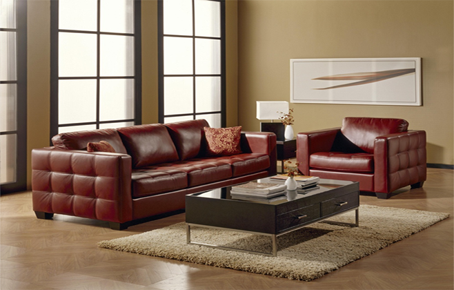 5 причин взять кожаный диван