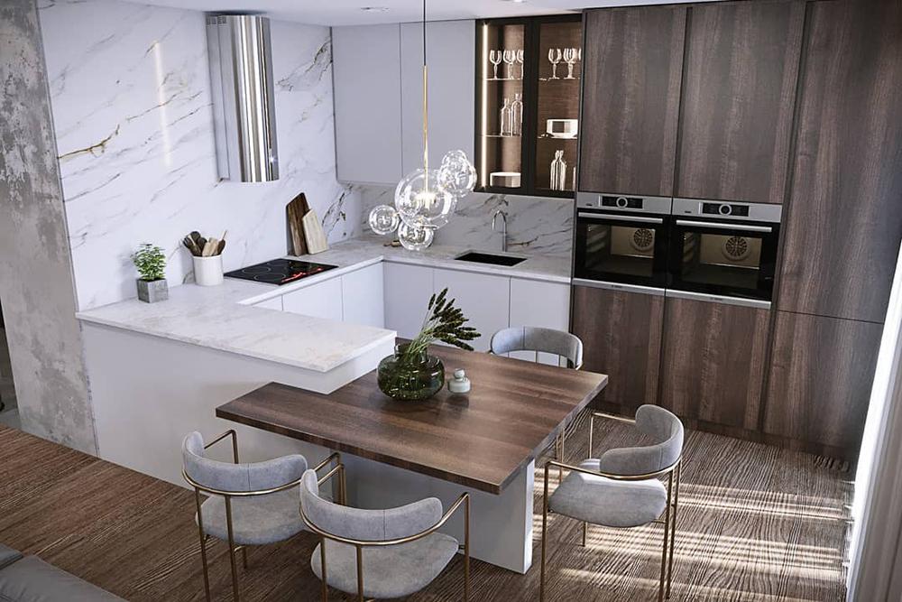 Какой тип напольного покрытия выбрать для кухни?