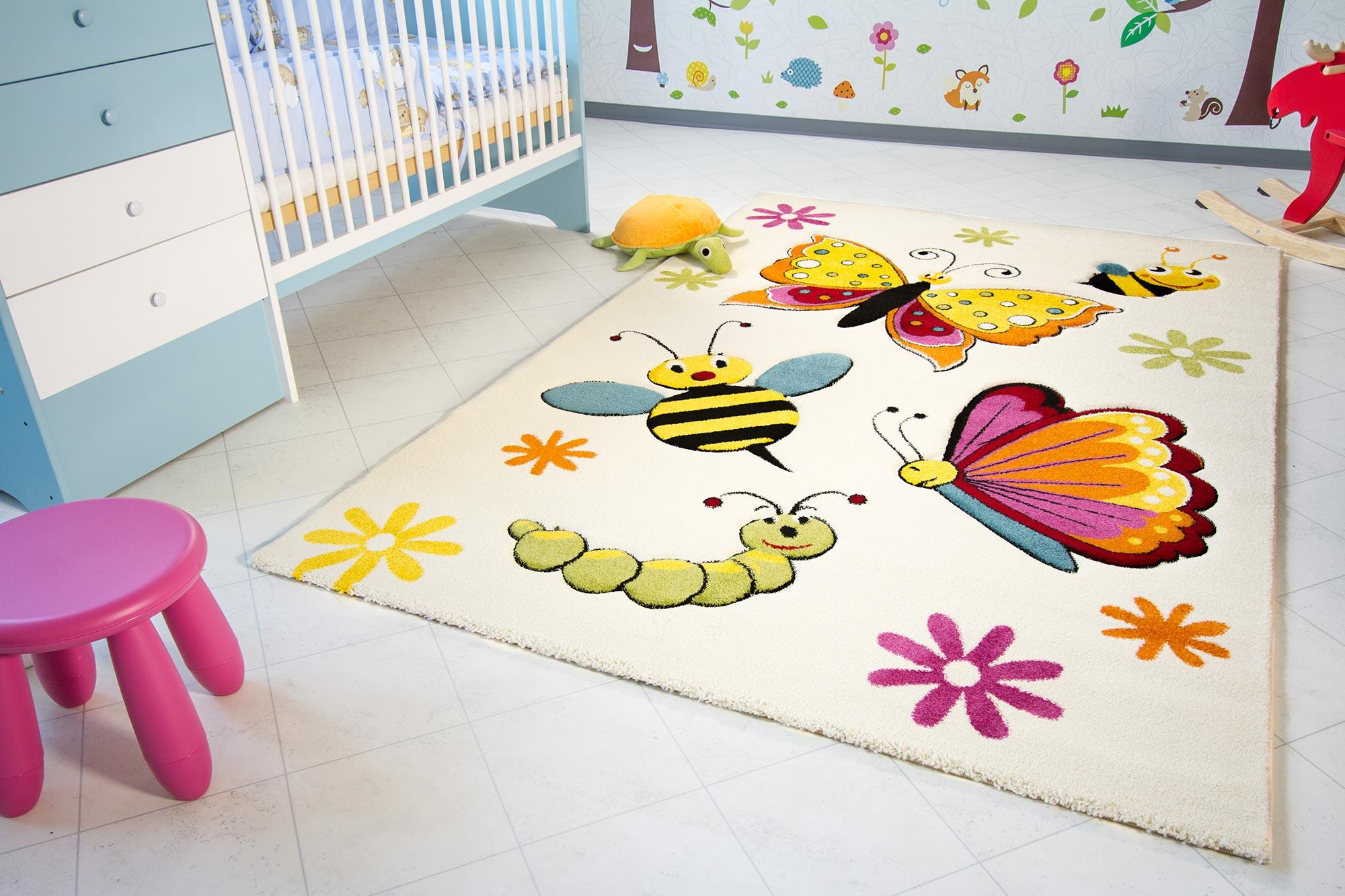 Ковер для детской комнаты. Как выбрать? Что стоит учитывать?