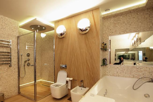 Освещение ванной комнаты. Что нужно помнить?