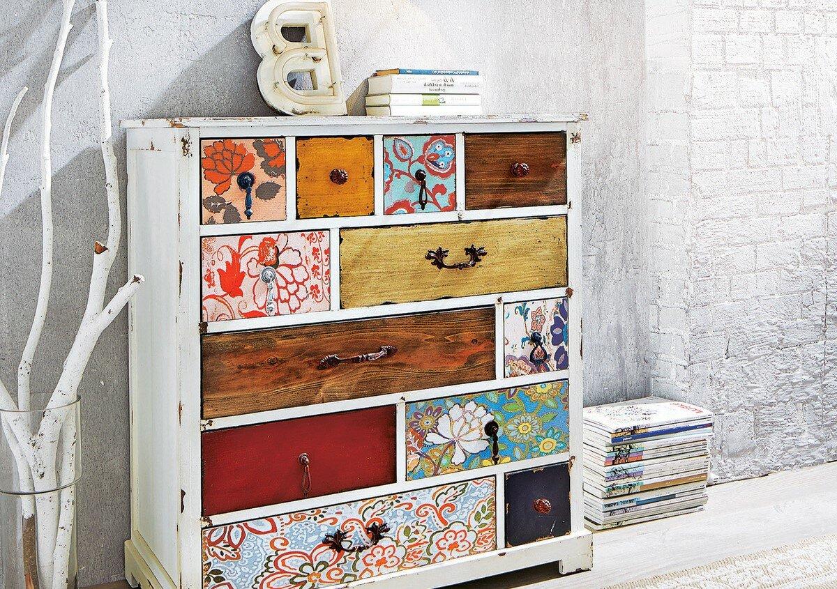 Как обновить лакированную мебель?