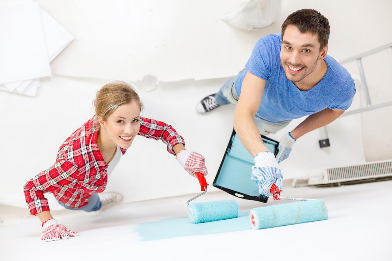 Картинки мужчина делает ремонт