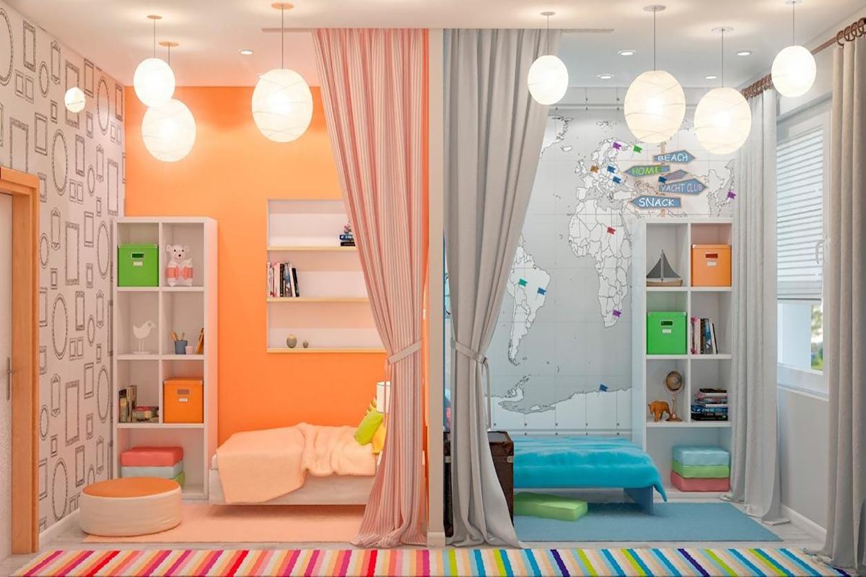 Зонирование детской комнаты. Что нужно помнить?