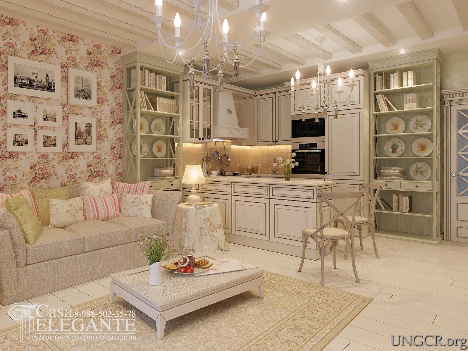 Ремонт в квартире в стиле прованс