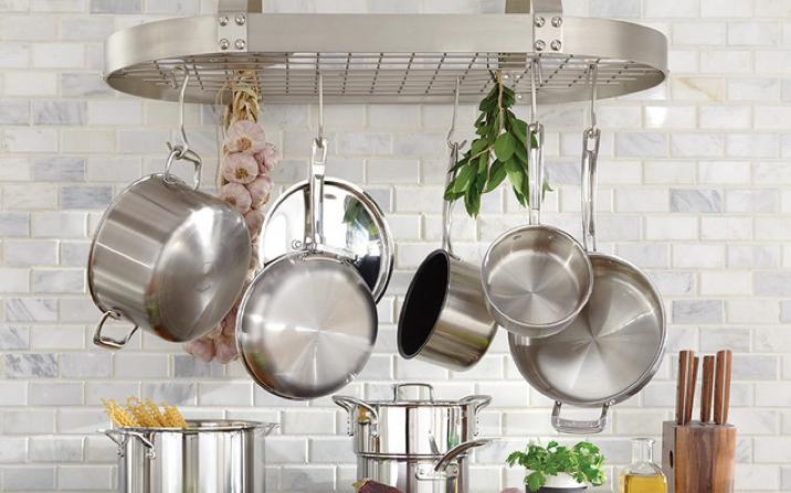 Настенные аксессуары для кухни. Типы и методы расположения