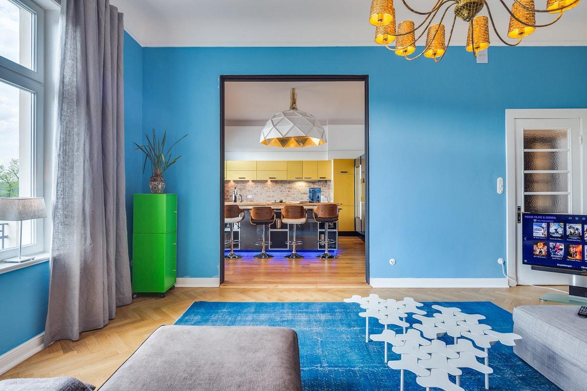 Цветовая отделка квартиры
