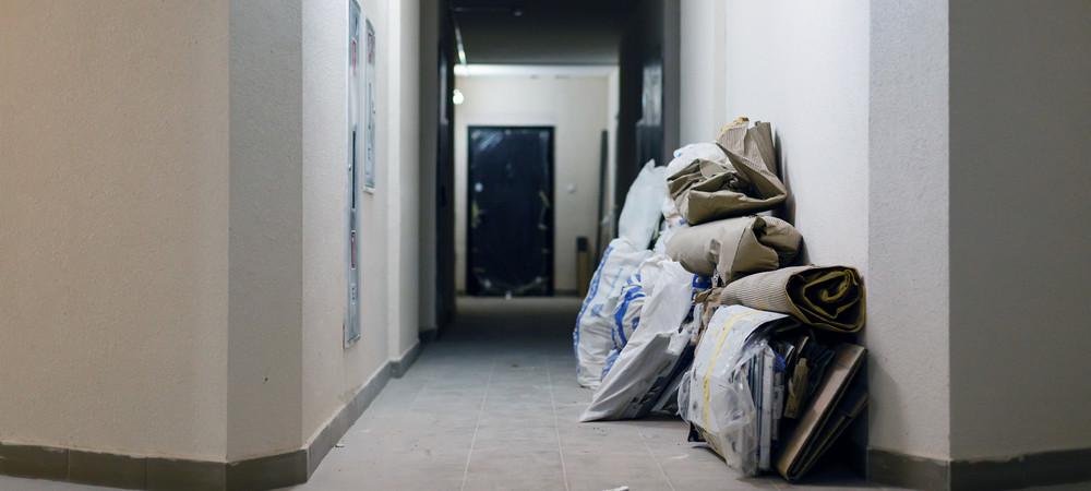 Этапы ремонта в квартире: 1-й демонтажные работы
