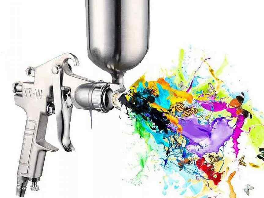 Как и чем разбавить краску для краскопульта?